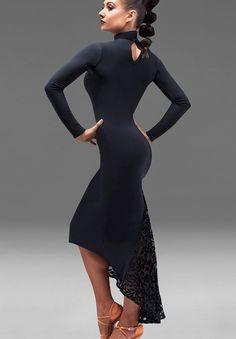 Chrisanne Nirvana Asymmetric Latin Dress  Dancesport Fashion @ DanceShopper.com