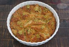 Söbiyet - Blätterteigecken gefüllt mit Grießpudding