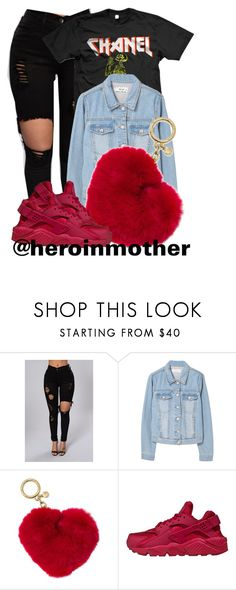 """033"" by heroinmother ❤ liked on Polyvore featuring MANGO, Michael Kors and NIKE"