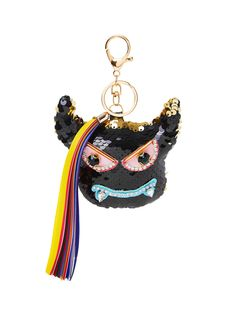 Shop Sequin Overlay Keychain With Tassel online. SheIn offers Sequin Overlay Keychain With Tassel & more to fit your fashionable needs.