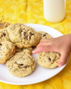 The Ultimate Soft & Chewy Chocolate Chip Cookies