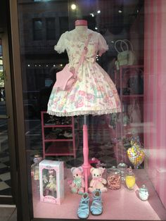 Angelic Pretty San Francisco window display