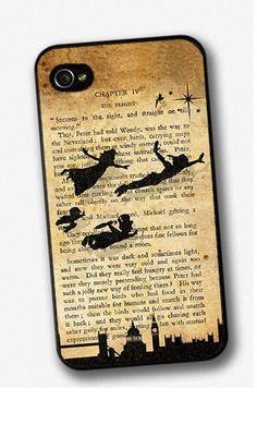 Peter Pan Tinkerbell Disney Book Iphone 4 / 4s by ForeverForeverUk, £6.99