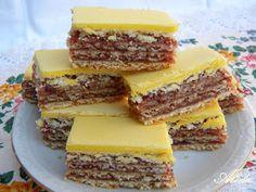 Hungarian Desserts, Hungarian Recipes, Oreo Cupcakes, Cake Cookies, Sweet Desserts, Dessert Recipes, No Bake Cake, Cheesecake, Food And Drink