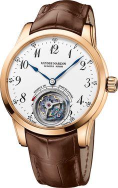 La Cote des Montres : La montre Ulysse Nardin Ulysse Anchor Tourbillon - Un condensé de technologie mécanique avant-gardiste dans une robe intemporelle d'or et d'émail