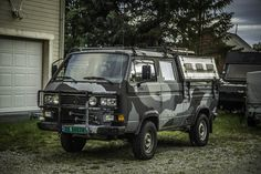 VW type 25 modified, expedition vehicle, Norway