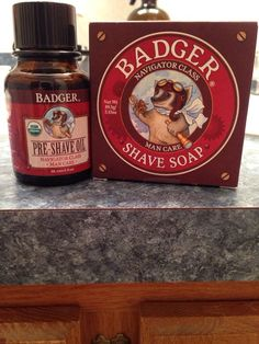 #Baldnation Badger products give a great shave, the shave oil comes in a glass bottle perfect for recycling thebaldnation.com