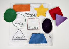 Quiet Book: Shapes