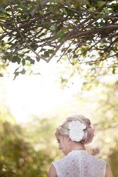 Beautiful Bride Hair Style #WhimsicalLightPhotography