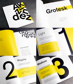 Type Specimen - Samantha Chang