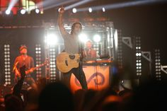 This cowboy sure new how to open a concert! Jake Owen opening for Jason Aldean, 10.25.13.