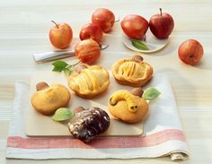Apfelbacken: 6er Apfel-Muffinform - Food