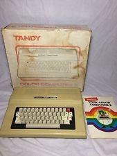 Tandy Color Computer 2 Vintage Computer Video Game Color Comp Manual Retro Old