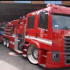 Sick fire truck