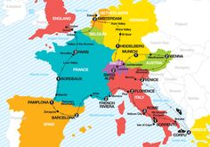 Europe map travel planner remarkable ideas europe map trip planner europe map i like 2 learn europe map key collection Europe Map Travel, Travel Destinations, Travel Abroad, Travel Tips, Eurotrip, Voyage Rome, Travel Journal Pages, Travel Planner, Trip Planner