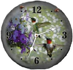 Special Offers - Morco 500HUM 10 in. Hummingbird Slate Clock - In stock & Free Shipping. You can save more money! Check It (November 03 2016 at 07:35AM) >> http://wallclockusa.net/morco-500hum-10-in-hummingbird-slate-clock/
