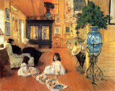 William Merritt Chase, Hall at Shinnecock, 1892