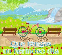 ... Good Day, Good Morning, Bicycle Print, Disney, Outdoor Decor, Prints, Cards, Poster, Tina Turner
