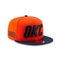 ab701eac Oklahoma City Thunder OKC New Era 9FIFTY NBA Earned Edition Snapback Cap Hat