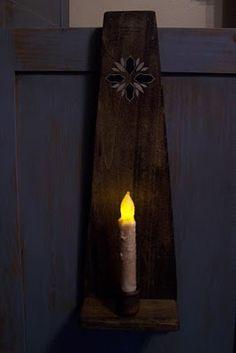 Cupboard Door Candle Holder