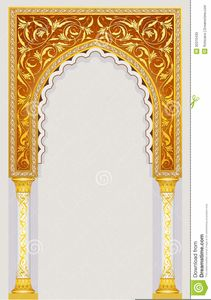 Illustration about High detailed islamic arch design in vector illustration. Illustration of detail, building, front - 30370430 Islamic Motifs, Islamic Art Pattern, Pattern Art, Indian Party Themes, Indian Theme, Royal Background, Indian Prayer, Creative Typography Design, Mughal Architecture