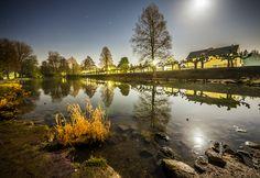 Nacht Fotografie bei Vollmond