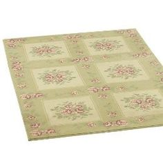 Simply Shabby Chic™ Rose Squares Woven Rug - Taupe...