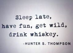 #whiskey #HunterSThompson