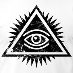 Eye of Providence. Tattoo idea 8531 Santa Monica Blvd West Hollywood, CA 90069 - Call or stop by anytime. UPDATE: Now ANYONE can call our Drug and Drama Helpline Free at Men Finger Tattoos, Body Art Tattoos, Hand Tattoos, Tattoos For Guys, Cool Tattoos, Illuminati Drawing, Triangles, Providence Tattoo, Learn To Draw Anime