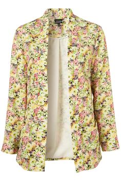 CO-ORD PEONY THROW ON JACKET    Price:$100.00    TOPSHOP