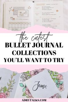 19 Bullet Journal Collections You Need to Try - Adry Talks Bullet Journal Contents, Bullet Journal Weekly Layout, Bullet Journal For Beginners, Bullet Journal Tracker, Bullet Journal School, Bullet Journal Hacks, Bullet Journal How To Start A, Bullet Journal Inspiration, Journal Ideas
