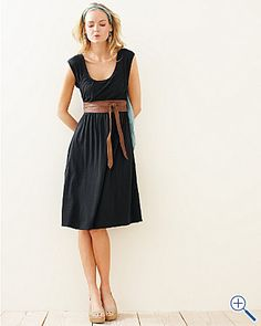 Veranda Knit Dress. the shape is perfect.
