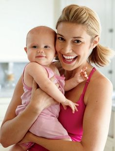 Lose Your Post-Baby Paunch with Pilates