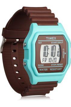 Cute retro watch will make me run faster, I'm sure of it.