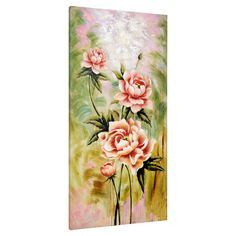 Found it at Wayfair.co.uk - Pink Roses Canvas Wall Art
