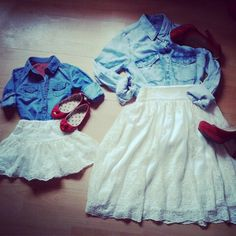 I'm in love with these outfits. So doing that.