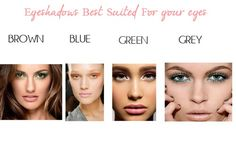 {Beauty Tip} Eyeshadows That Best Compliment Your Eyes