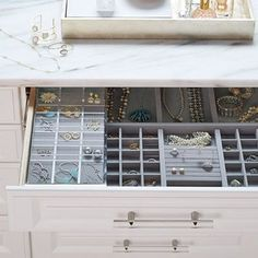 Discover beautiful ways to organize your jewelry with these tips.