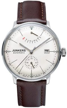 Junkers Watch Bauhaus #2015-2016-sale #bezel-fixed #black-friday-special #bracelet-strap-leather #brand-junkers #case-depth-12mm #case-material-steel #case-width-40mm #classic #date-yes #delivery-timescale-1-2-weeks #dial-colour-cream #gender-mens #movement-automatic #official-stockist-for-junkers-watches #packaging-junkers-watch-packaging #power-reserve-yes #sale-item-yes #style-dress #subcat-bauhaus #supplier-model-no-6060-5 #vip-exclusive #warranty-junkers-official-2-year-guarantee…