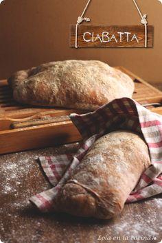 Italy - Italian food  - Italian bread - Ciabatta