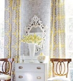love these for my new bedroom...someday  Source: Design Sponge