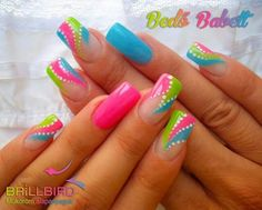 1286 Best Funky Nail Designs Images On Pinterest In 2018