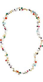 Rosantica Pacifico 24-karat gold-dipped multi-stone necklace