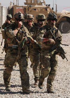 Australian commandos in Afghanistan