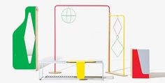 Objet Coloré, módulos flexibles de exhibición, por Studio Dessuant Bone - Catálogodiseño magazine