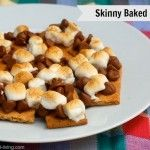 Skinny Baked Smores for Weight Watchers