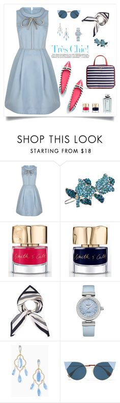 """""""chic 😊"""" by tato-eleni ❤ liked on Polyvore featuring Smith & Cult, OMEGA, Kate Spade and Fendi"""