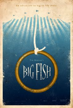 Big Fish - Movie Poster | #movieposter