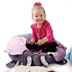 Bumpidoodle 'Ellie Elephant' Plush Pillow With Personality - Sears | Sears Canada