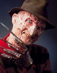 Freddy Krueger from A NIGHTMARE ON ELM STREET series of films.